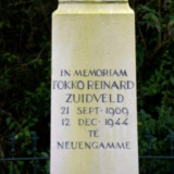 Gedenkteken Verzetsstrijder Fokko Reinard Zuidveld