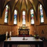 Kerkgebouw en pastorie
