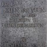 Buste dr.ir. Johan van Veen