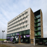 Betonplastieken Eemsmondgebouw - ontwerper onbekend