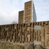 Betonplastieken Eemsmondgebouw