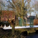 Gracht en boogbrug Luingaborg - ontwerper onbekend