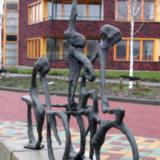 Op de fiets - ontwerper onbekend