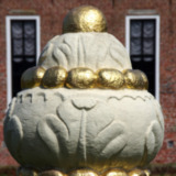 Knopvormig ornament