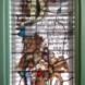 Drie gebrandschilderde glas-in-lood ramen - Charles  Eyck