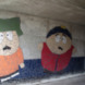 Tunnel mozaïek -   Dooijes, Leon